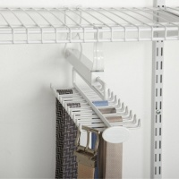 8060 - 24 Hook Sliding Tie & Belt Rack